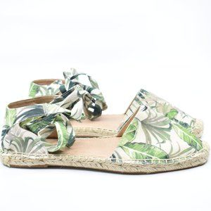Tropical Ankle Laces Espadrilles